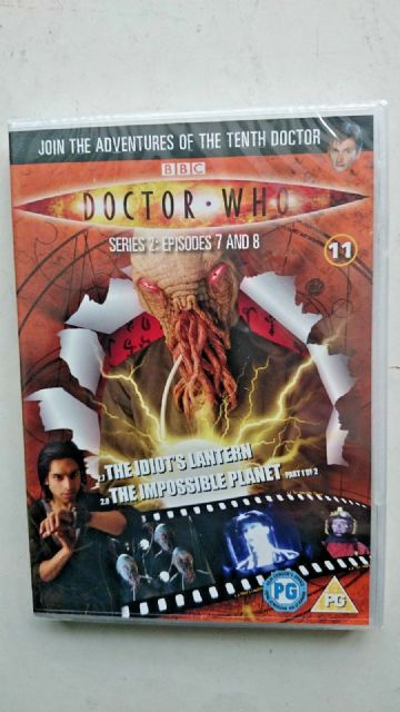 Doctor Who Series 2 Episodes 7 & 8  DVD David Tennant - NEW and SEALED